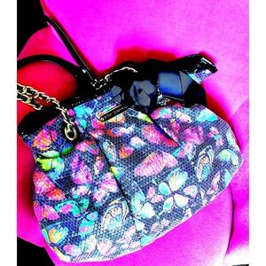 BETSEY JOHNSON tote bag with hair accessory
